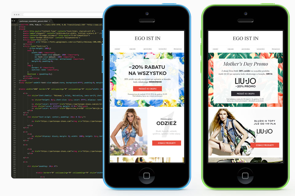 Kodowanie projektów graficznych PSD do HTML